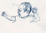 baby Ernie sketch