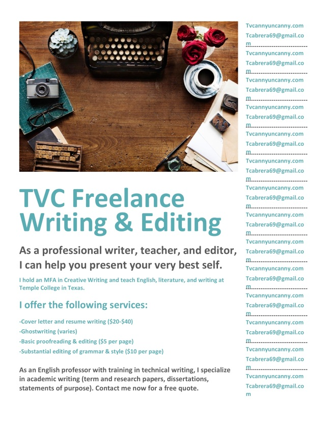 TVC Freelance Writing&Editing